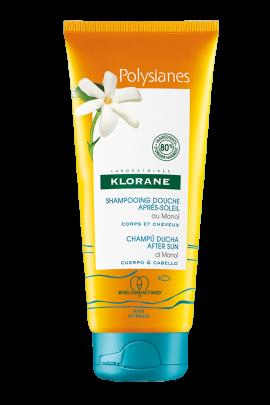 Klorane Ζελ ντους για σώμα και μαλλιά Polysianes, με Monoi Apres Soleil 200ml