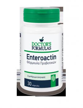 Doctors Formulas Enteroactin - Φόρμουλα Προβιοτικών 30 κάψουλες