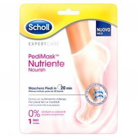 Scholl PediMask Nutriente Nourish Μάσκα Ποδιών με 0% Αρώματα & Χρωστικές 1 ζευγάρι