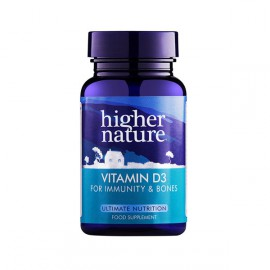 Higher Nature Vitamin D3 500iu 60caps