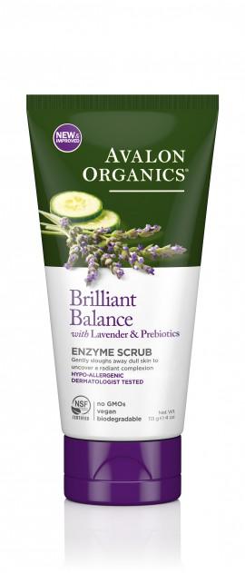 Avalon Organics Enzyme Scrub With Lavender & Probiotics 100ml
