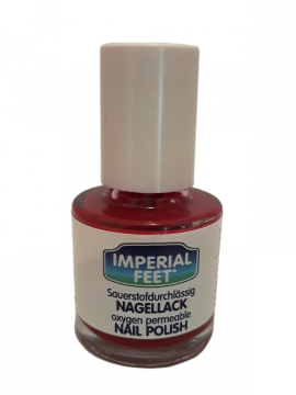 Imperial Feet Fungal Nail Polish Κόκκινο Χρώμα 12ml