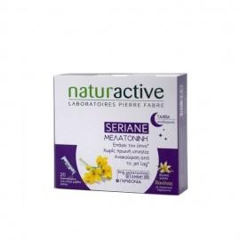 Naturactive Seriane Melatonine Συμπλήρωμα Διατροφής για την Αντιμετώπιση της Αϋπνίας 20 φακελίσκοι