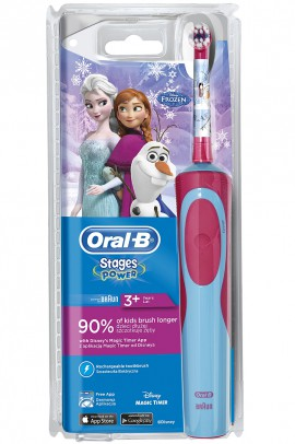 Oral-B Vitality Kids Stages Power Frozen Ηλεκτρική Οδοντόβουρτσα για Κορίτσια 3+ ετών, 1 τεμάχιο