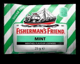 FISHERMANS FRIEND Καραμέλες Μέντα Sugar free (ΠΡΑΣΙΝΟ) 25gr