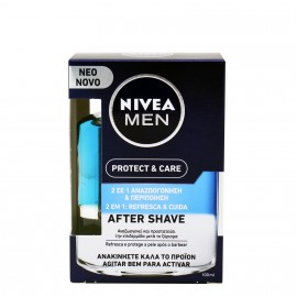 NIVEA MEN Protect & Care After Shave 2 σε 1 100ml