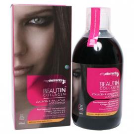 My Elements Beautin Collagen Mάνγκο-Πεπόνι 500ml