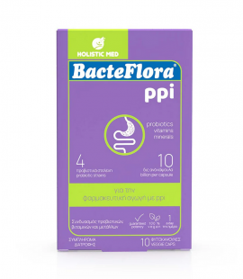 Holistic Med Bacteflora PPI 10 veg.caps