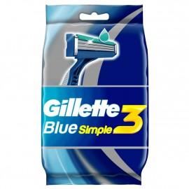 Gillette Blue Simple3 8τμχ