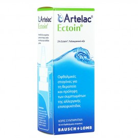 Bausch & Lomb Artelac Ectoin Οφθαλμικές Σταγόνες 10ml