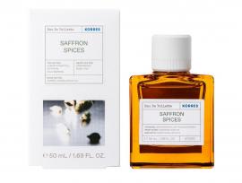 Korres Saffron Spices Eau De Toilette Ανδρικό Άρωμα 50ml