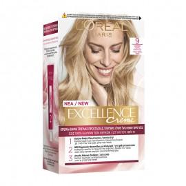 LOreal Excellence Creme 9 Ξανθό Πολύ Ανοιχτό 48ml