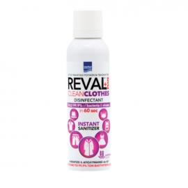 Intermed Reval Plus Clean Clothes Απολυμαντικό Ρούχων & Υφασμάτων Με Άρωμα Λεβάντας 200ml