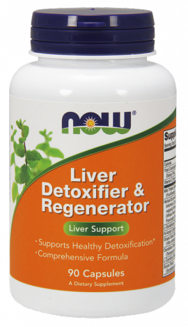 Now Foods Liver Detoxifier & Regenerator 90 Veget.caps