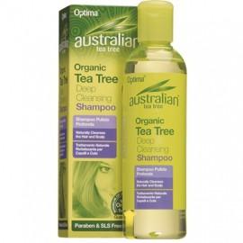 OPTIMA Australian Organic Tea Tree Deep Cleansing Shampoo 250ml