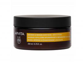 Apivita Μάσκα Θρέψης & Επανόρθωσης με Ελία & Μέλι 200ml