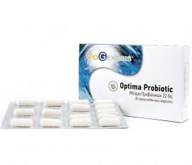Viogenesis OPTIMA PROBIOTIC 22billion 30enteric coated caps