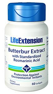 Life Extension Butterbur Extract 60caps