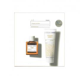 Korres Set Oceanic Amber Eau De Toilette 50ml + After Shave Balm Γαλάκτωμα για Μετά το Ξύρισμα 125ml