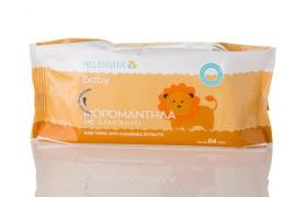 HELENVITA Baby Μωρομάντηλα Χαμομήλι 64τμχ