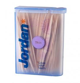 JORDAN Dental Sticks Thin Οδοντογλυφίδες 100 τεμάχια