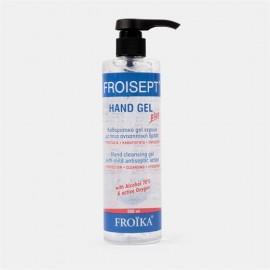 Froika Froisept Hand Gel Plus Pump Καθαριστικό Gel Χεριών Με Ηπια Αντισηπτική Δράση 500ml