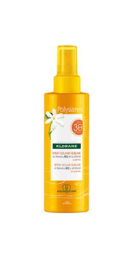 Klorane Polysianes SPF30 Αντηλιακό Spray 200ml