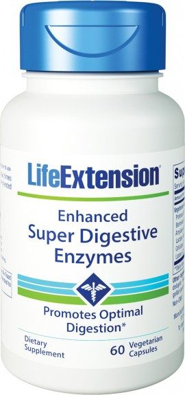 Life Extension Enhanced Super Digestive Enzymes 60caps