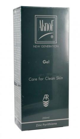 Inpa, AknoF Gel, Καθαριστικό & Σμηγματορυθμιστικό Τζελ 200 ml : Ιδανικό για την Ακνεϊκή Επιδερμίδα, για Πρόσωπο & Σώμα