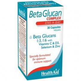 HEALTH AID BetaGlucan Complex 30caps Vegan