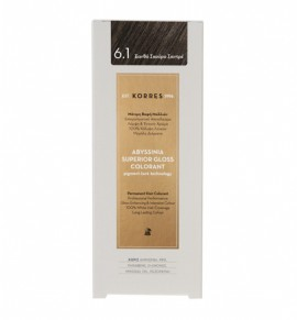 KORRES Abyssinia Superior Gloss Colorant 6.1 Ξανθό Σκούρο Σαντρέ 50ml