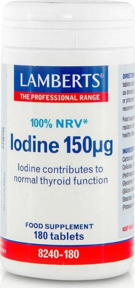 LAMBERTS Iodine 150mg 180tabs