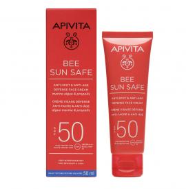 Apivita Bee Sun Safe Anti-Spot & Anti-Age Defense Face Cream SPF50 50ml