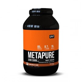 QNT Metapure Zero Carb Whey Isolate Protein Powder Belgian Chocolate 2kg