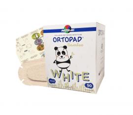 Master Aid ORTOPAD 50 Medium.  (7,6x5,4cm)  2 έως 4 ετών. (Λευκό)