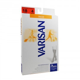 Varisan Passo Marrone Κάλτσες Διαβαθμισμένης Συμπίεσης Κάτω Γόνατος 18 mmHg 794 Καφέ No 5 (45-46)