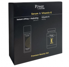 Power Health Set Instant Lifting & Hydrating Serum 30ml + Δώρο Vitamin E 400iu 30caps