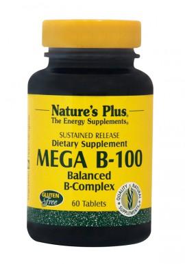 NATURES PLUS Vitamin Mega B 100 60tabs
