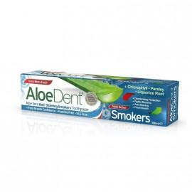 Optima Aloe Dent Triple Action Smokers Toothpaste 100ml