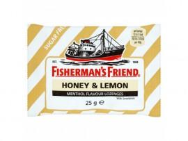 Fishermans Friend Καραμέλες με Γεύση Μέλι-Λεμόνι Sugar free 25gr