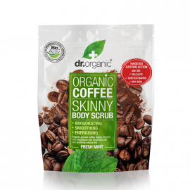 Dr.Organic Organic Coffee Skinny Mint Body Scrub 200g