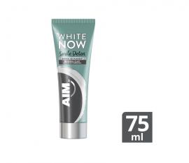 Aim White Now Smile Detox Charcoal Οδοντόκρεμα για Άμεση Λεύκανση 75ml