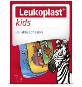 Leukoplast Professional Kids 2 μεγέθη (19mm X 56mm) + (38mm X 63mm)