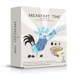 Power Health Breakfast Time Νιφάδες Βρώμης 5φάκελοι*25g.