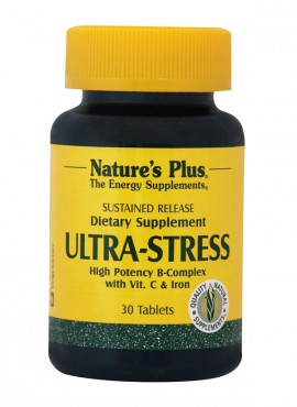 NATURES PLUS ULTRA STRESS W/IRON S/R 30tabs