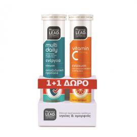 Pharmalead Multi Daily 20eff.tabs + Δώρο Pharmalead Vitamin C 550mg 20eff.tabs