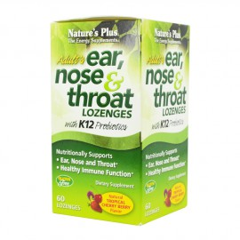 NATURE`S PLUS EAR NOSE & THROAT 60 Μασώμενα Δισκία