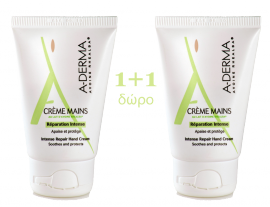 ADERMA DUO CREME MAINS 2x50ml