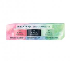 Nuxe Set Insta Masque Exfoliating + Unifying Mask 15ml + Insta-Masque Detoxifying + Glow Mask 15ml + Insta-Masque Purifying + Smoothing Mask 15ml