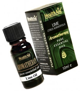 Health Aid Aromatherapy Lime Oil (Citrus aurantifolia) 10ml